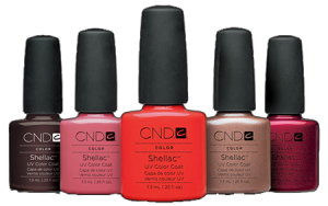 shellac - Manhattan Nails